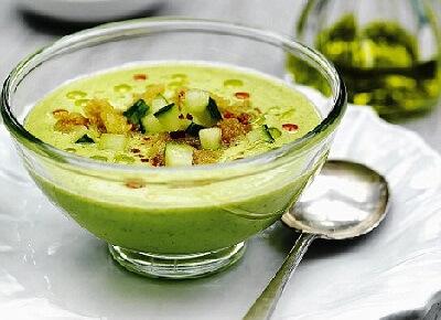 холодные супы по сборнику рецептур