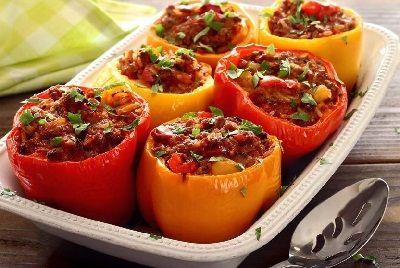 Закуска фаршированный болгарский перец рецепт